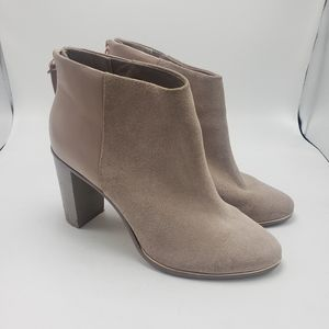 Ted Baker Pink Leather/Suede Booties